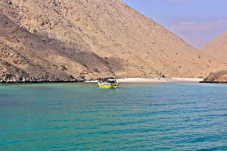 La péninsule du Musandam , La péninsule du Musandam, spot de plongée. , Sultanat d'Oman