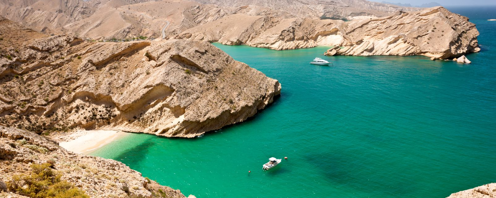 Les côtes, moyen-orient, proche-orient, oman, sultanat, golfe persique, golfe