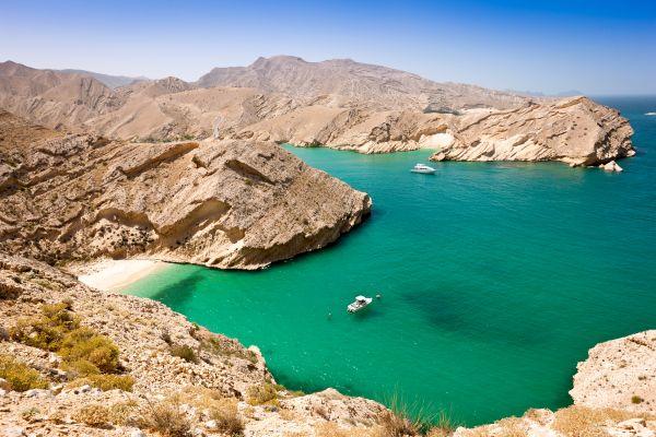 La costa del golfo dell'Oman, Le rive, Oman