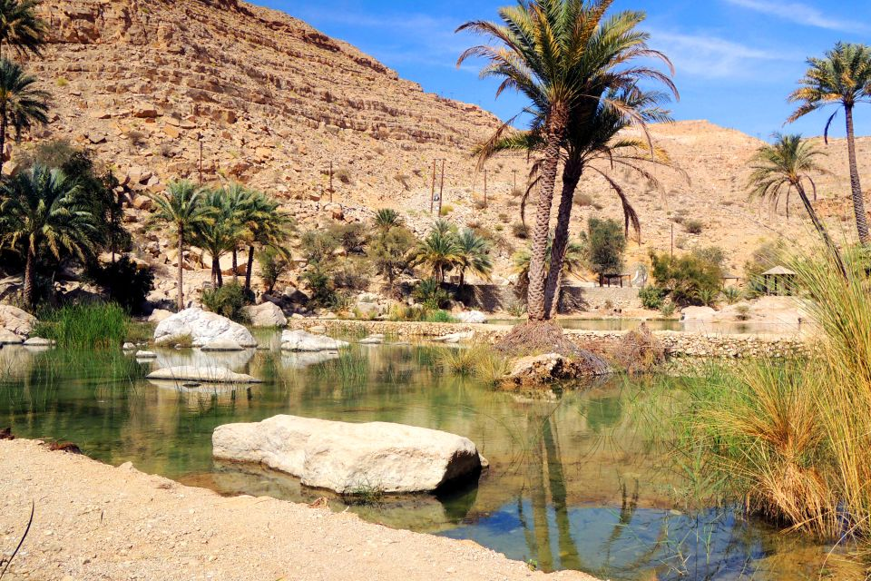 Les côtes, moyen-orient, proche-orient, oman, sultanat, Wadi Bani Khalid