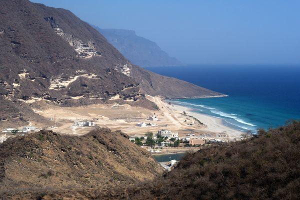 La costa del Dhofar, Le rive, Oman