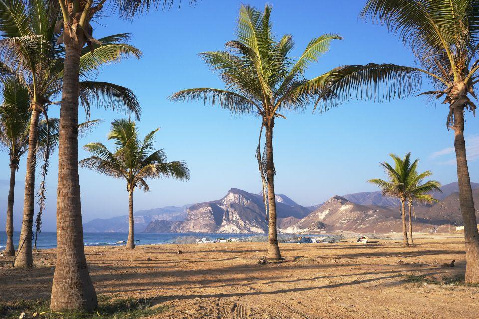 Les côtes, Dhofar, côte, oman, sultanat, moyen-orient, proche-orient, Al Mughsayl, plage