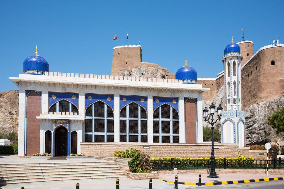 Les monuments, khor, mosquée, Oman, sultanat, moyen-orient, mascate, muscat, vieille ville, tradition, fort, Al Mirani, culture, religion, islam