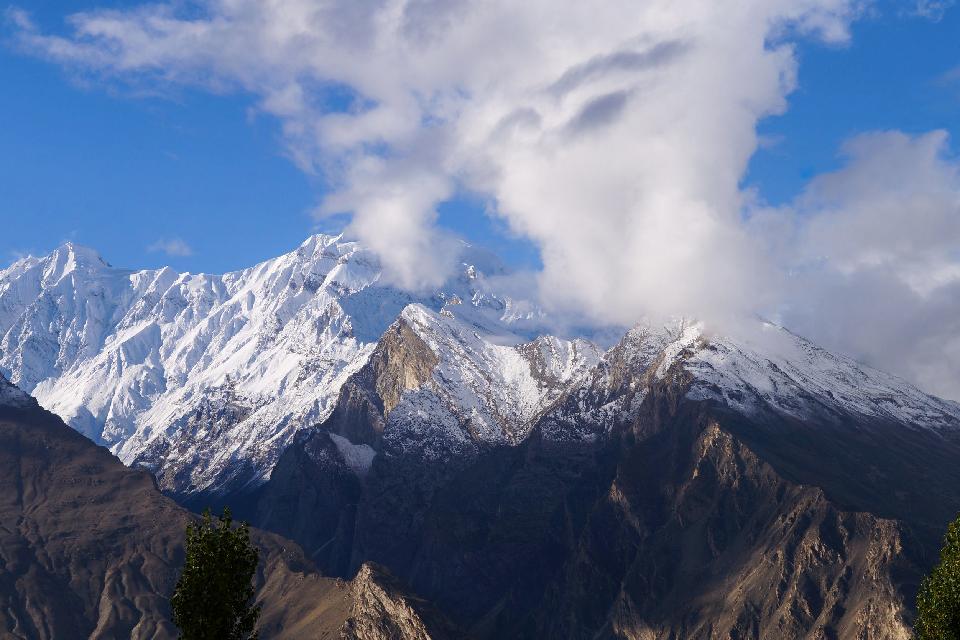 Les chaînes montagneuses , Pakistan
