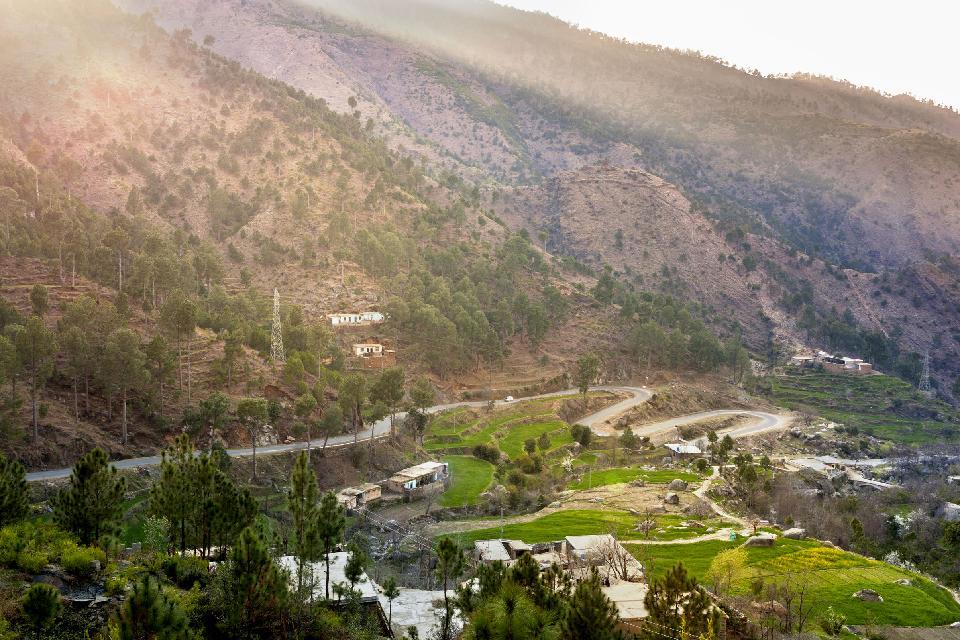 La vallée de Swat , Pakistan