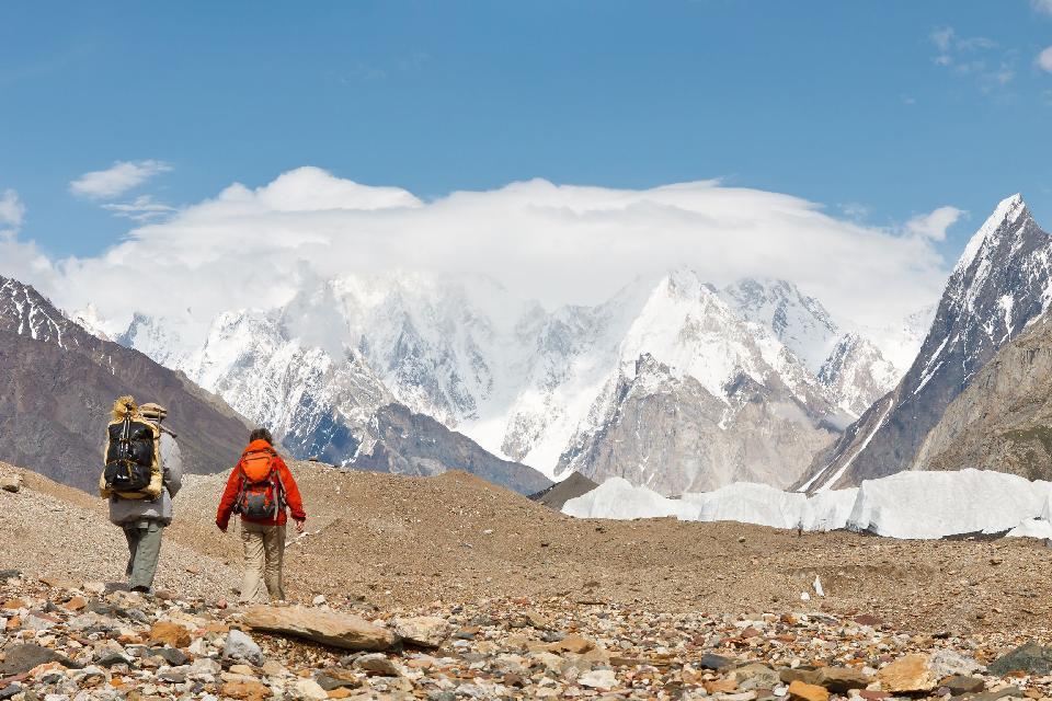 El itinerario del territorio Kalash , Pakistán