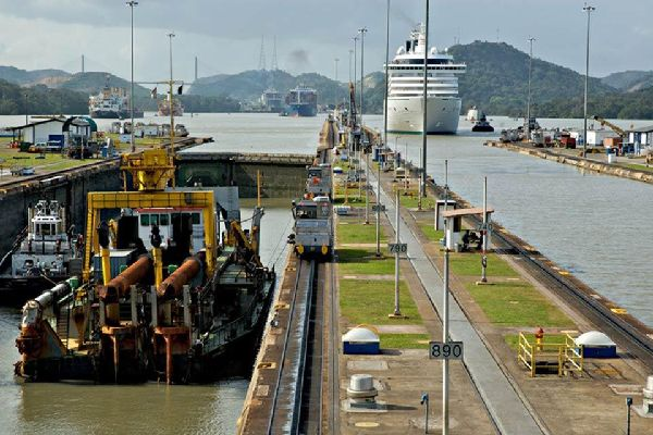 The canal , A player in world trade , Panama