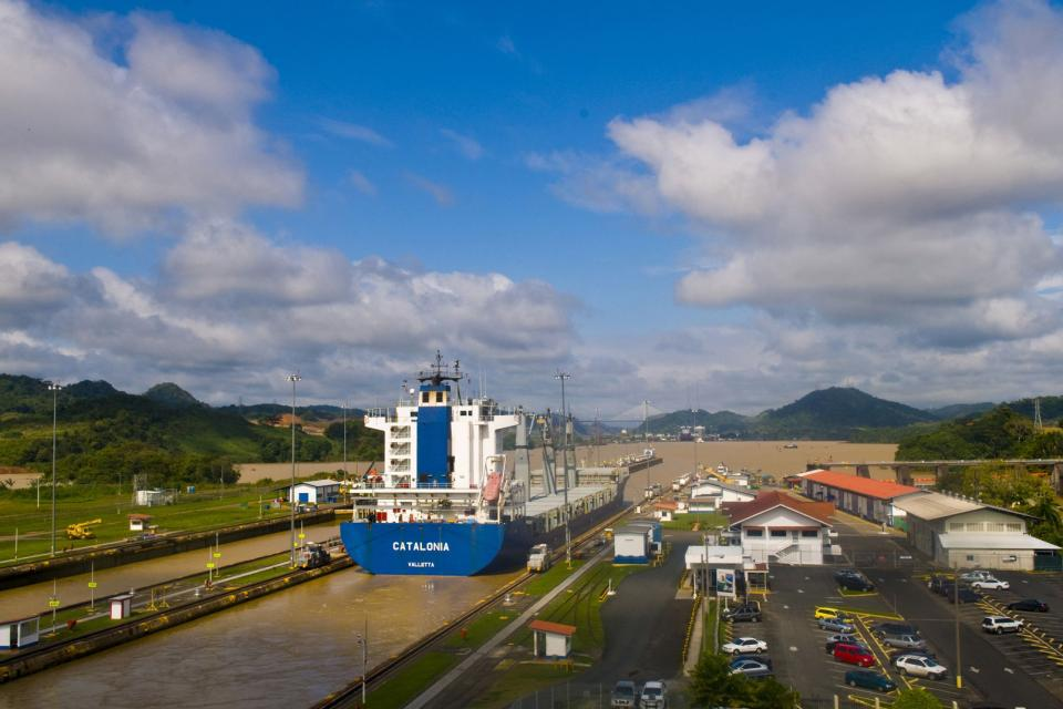 The canal , The Panama Canal , Panama