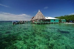 El archipiélago de Bocas del Toro , Panamá