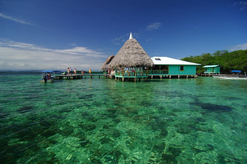 The archipelago of Bocas del Toro , The Bocas del Toro archipelago , Panama