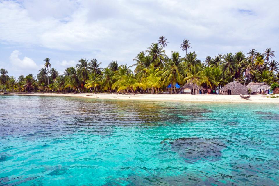 El archipiélago de San Blas , Panamá
