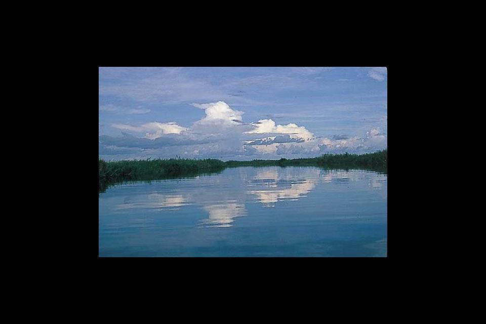 La vallée du Sepik , Papouasie-Nouvelle-Guinée