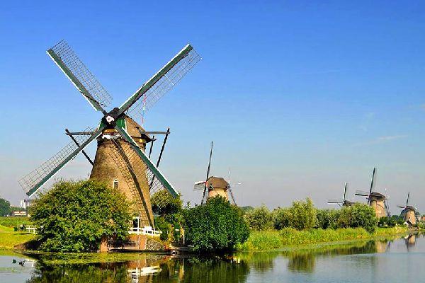 Les provinces de l'Est , Pays-Bas