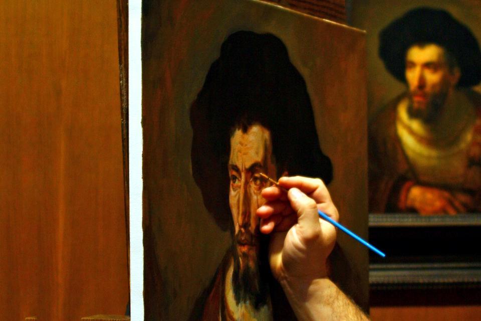 La peinture , Pays-Bas