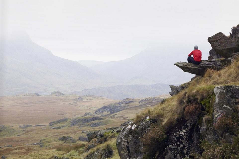Il Parco Nazionale di Snowdonia , Contemplazione del Parco Nazionale di Snowdon , Regno Unito