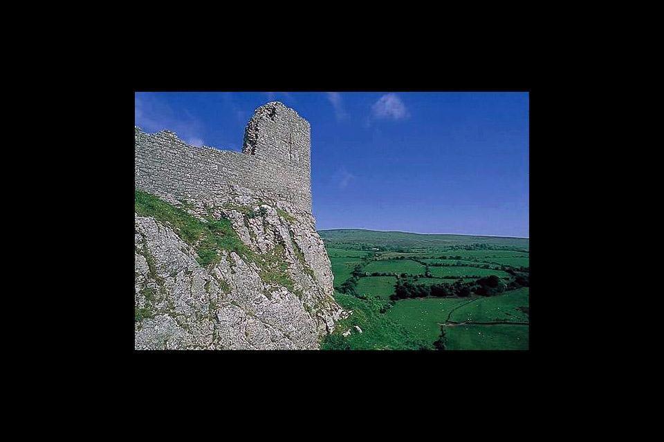 El Parque nacional de Brecon Beacons , Un castillo en Brecon Beacons , Reino Unido