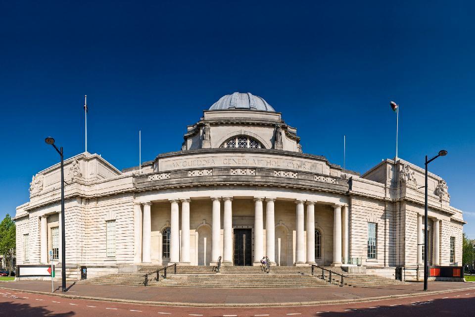 Il National Museum of Wales , Il museo nazionale del paese di Galles , Regno Unito