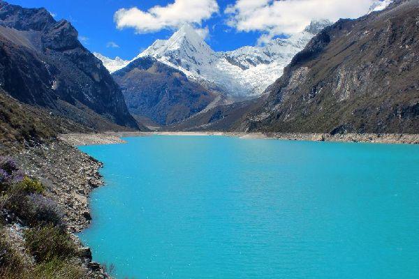 La cordillère Blanche , Le Huascarán , Pérou