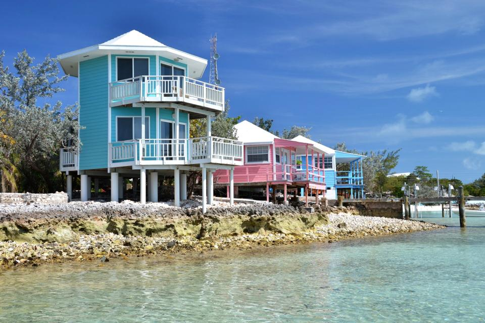 The hotels on the Out Islands , Bahamas
