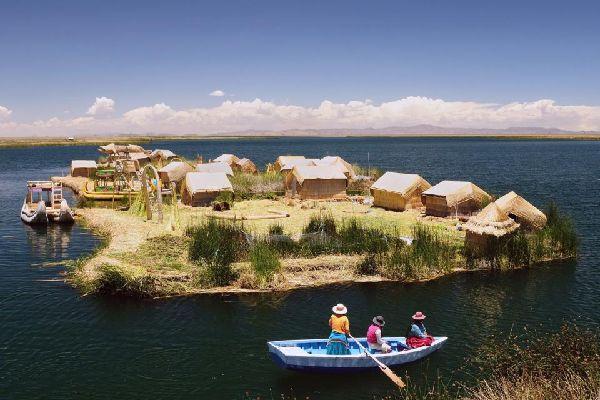 Le lac Titicaca , Le lac Titicaca, Pérou , Pérou