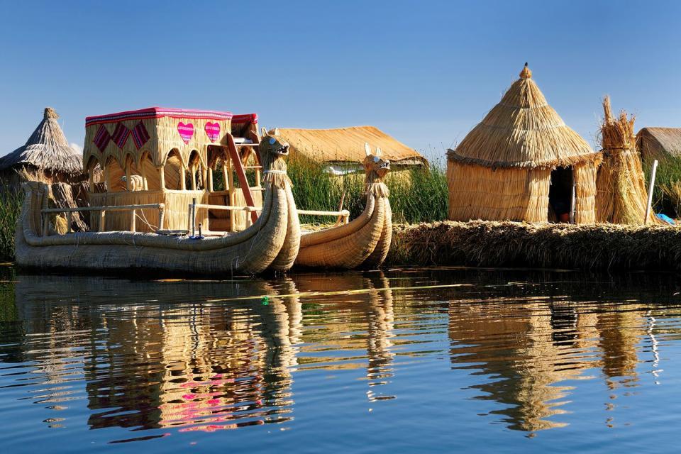 Le lac Titicaca , Lac Titicaca , Pérou
