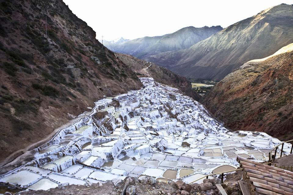 Maras salt mines , Peru