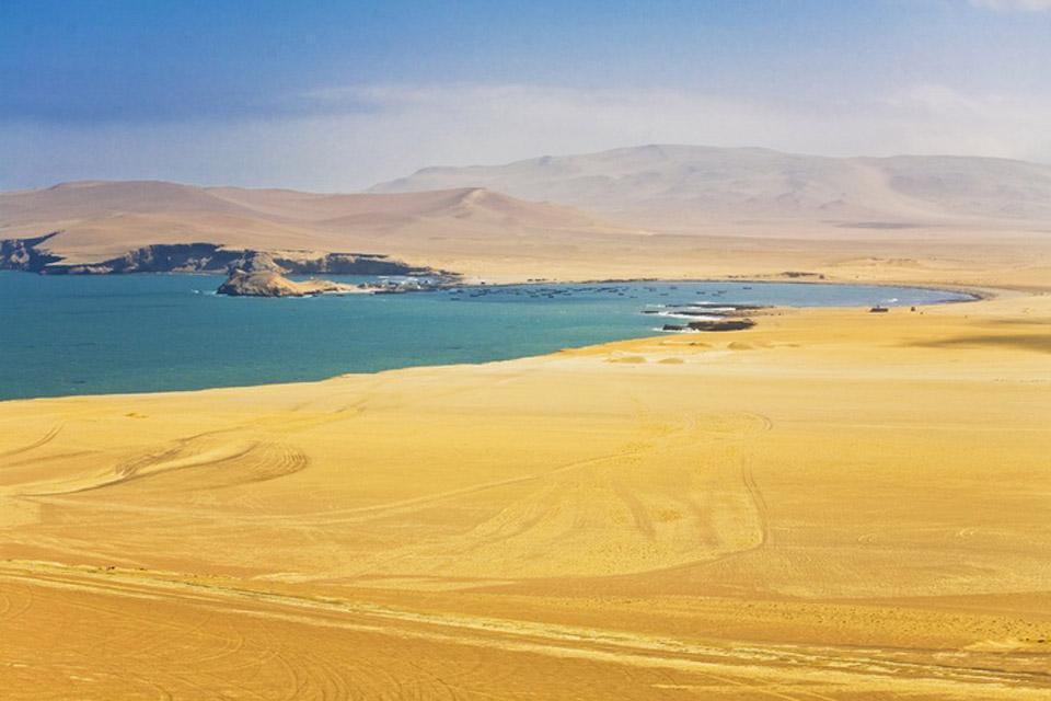 Beaches and surf spots , The coastal landscape of Peru , Peru