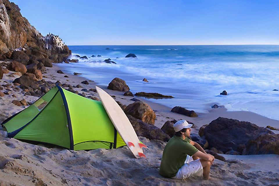 Il campeggio , In campeggio alle Bahamas , Bahamas