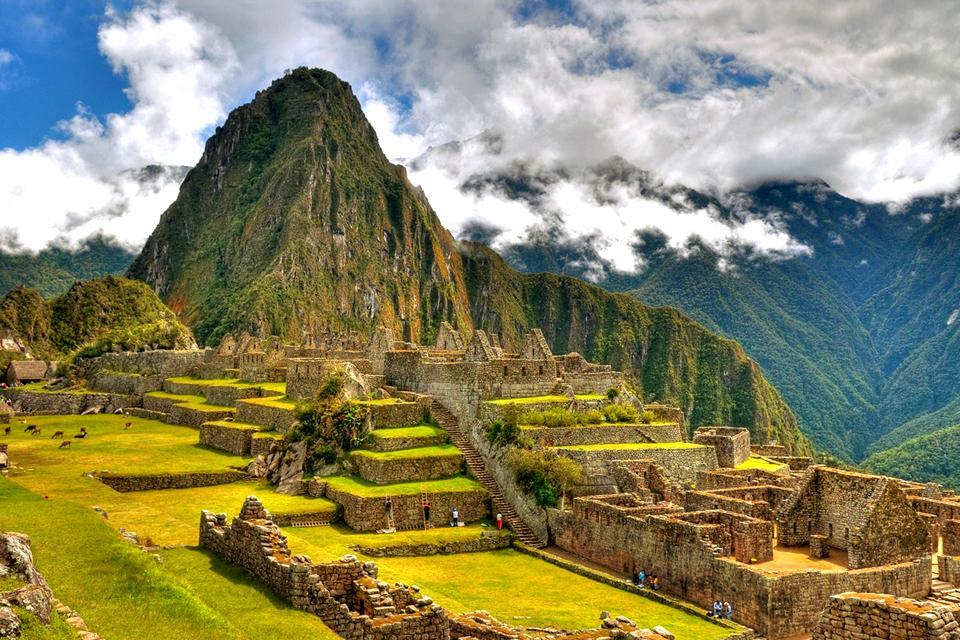 Il Machu Picchu , Il panorama di Machu Picchu , Perù