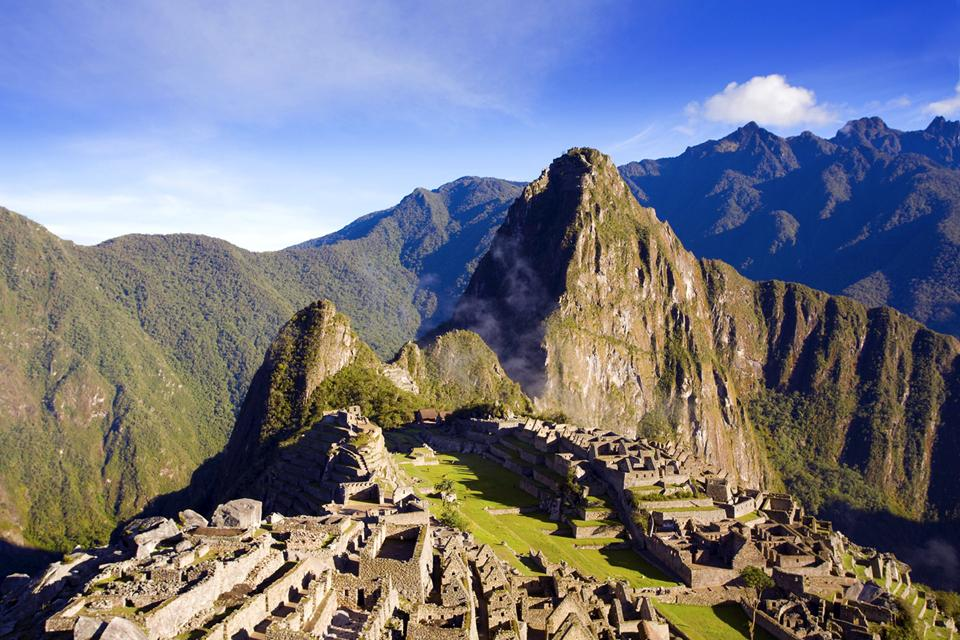 Il Machu Picchu , La grandezza di Machu Picchu , Perù