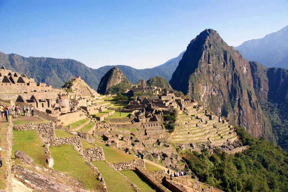 Il Machu Picchu , Intihuatana di Machu Picchu , Perù