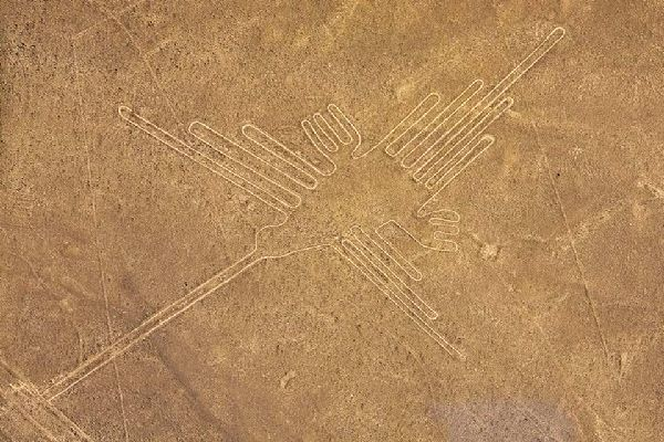 The Nazca lines , Peru