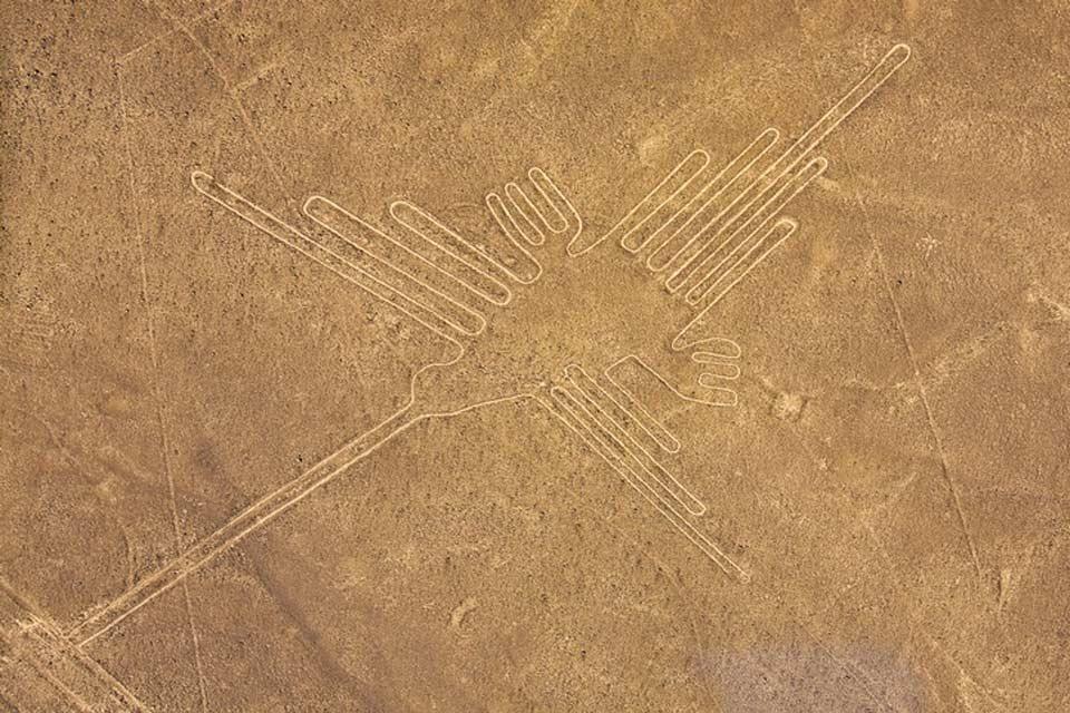 Le linee di Nazca , Il Colibrì, visto da un'altra prospettiva , Perù