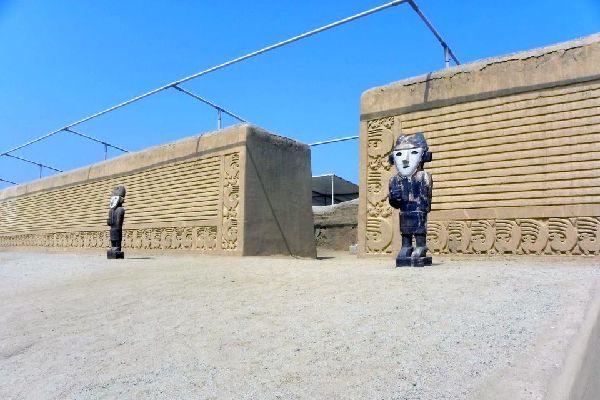 La citadelle de Chan Chan , Chan Chan, Perou , Pérou