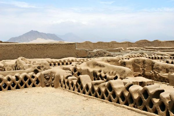 Chan Chan citadel , Peru