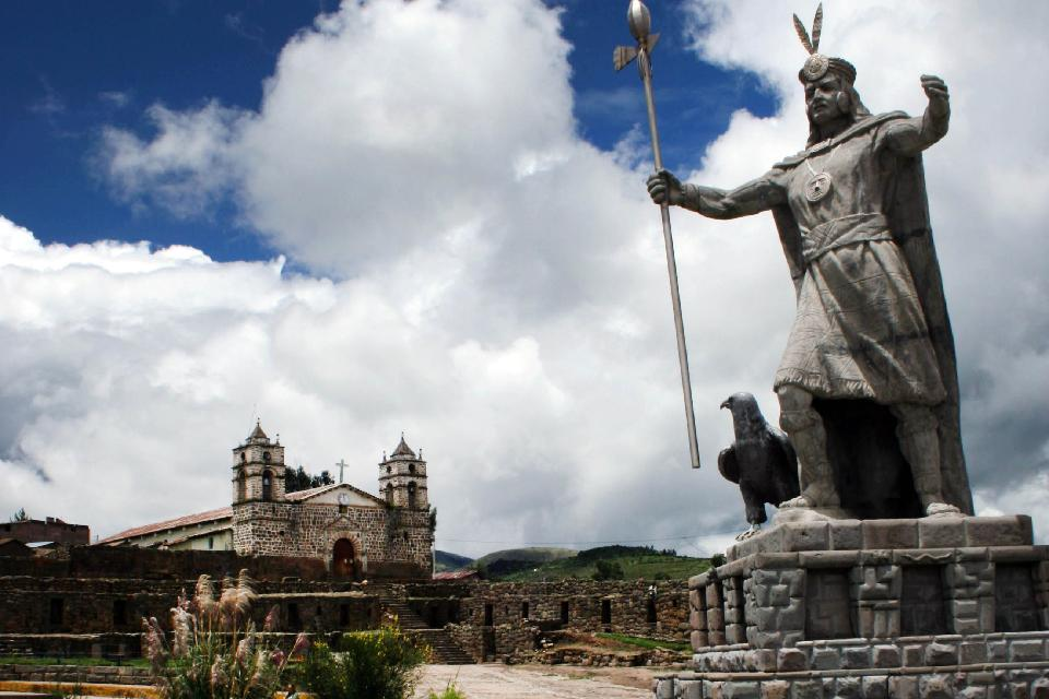 Vilcashuaman , Vilcashuamán Cathedral, Peru , Peru