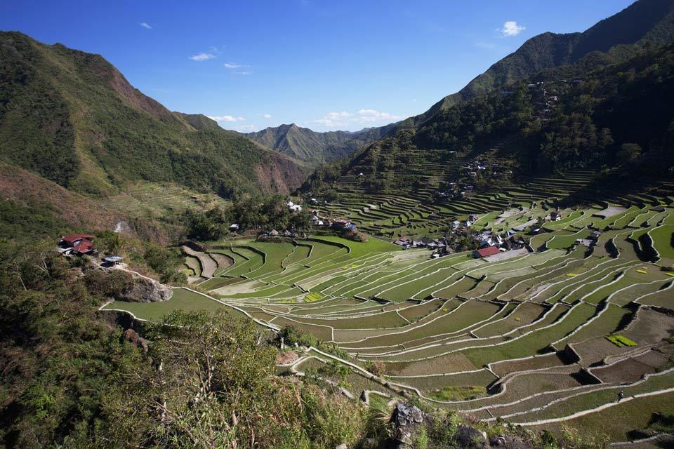 Le risaie di Banaue (Luzon) , L'ottava meraviglia del mondo , Filippine
