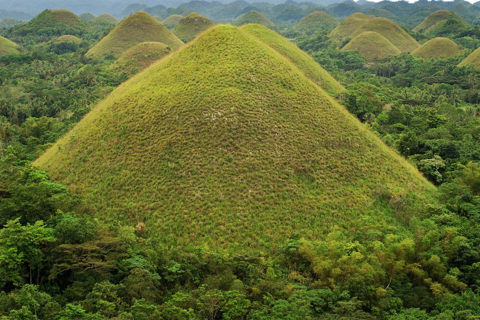 The formation of the hills, The Chocolate Hills, Landscapes, Philippines