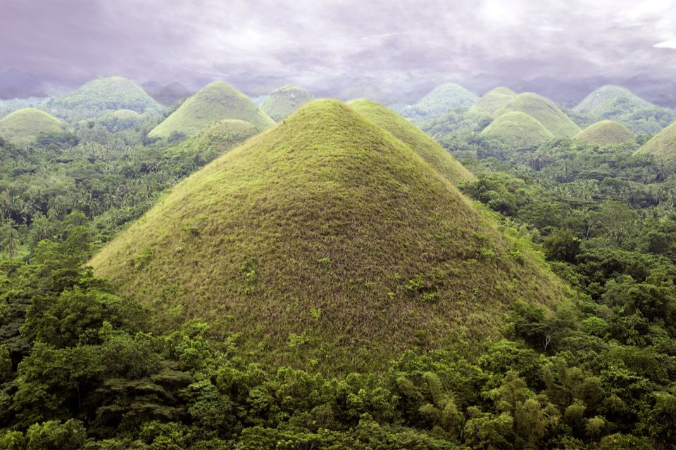 The colours of the hills, The Chocolate Hills, Landscapes, Philippines