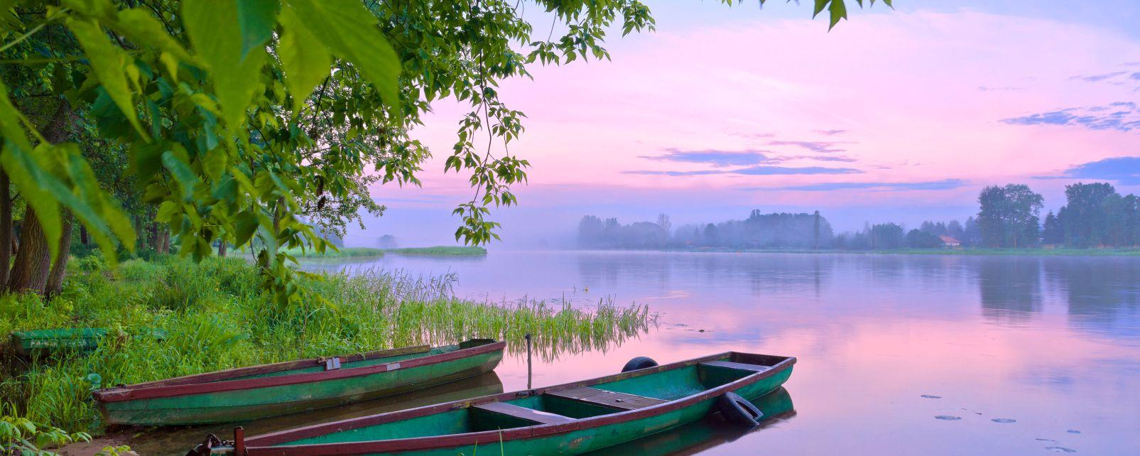 Masuren, Die Landschaften, Polen