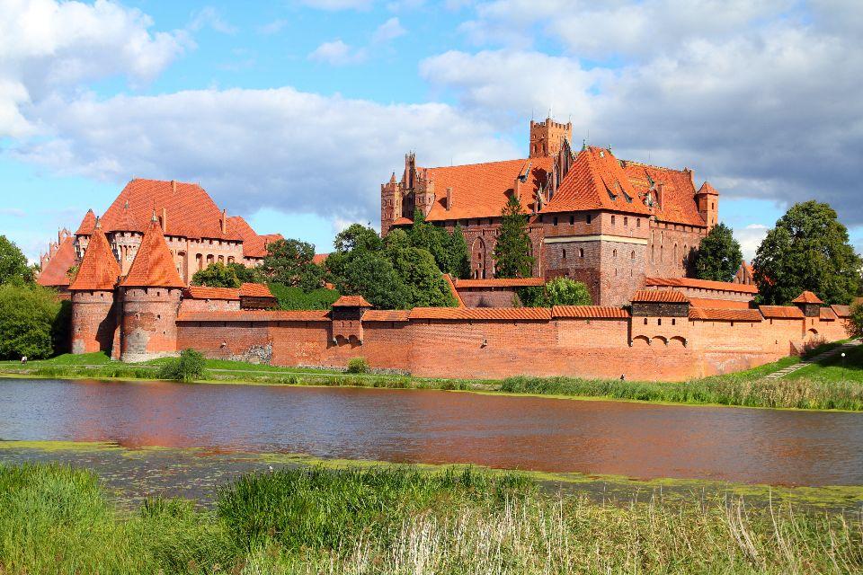 Das Schloss Malbork , Die Burg Malbork (Marienburg) , Polen