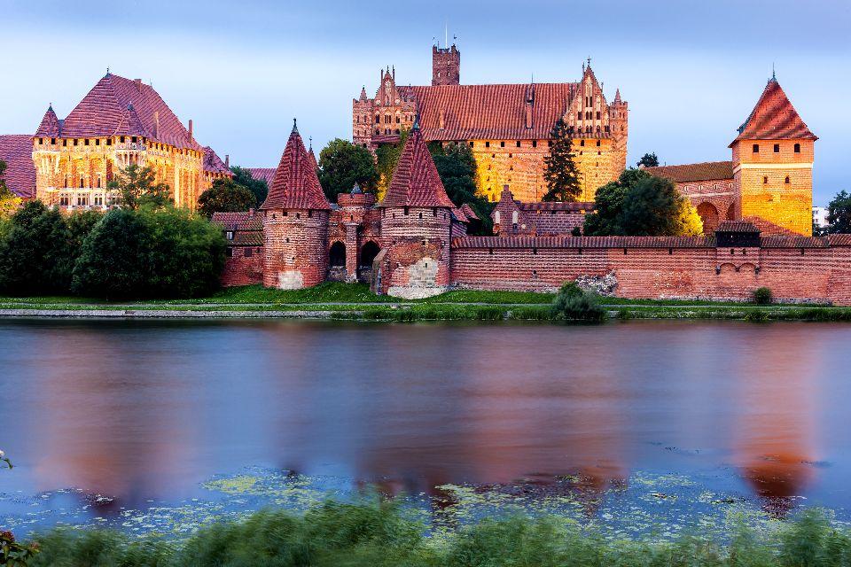Das Schloss Malbork , Polen