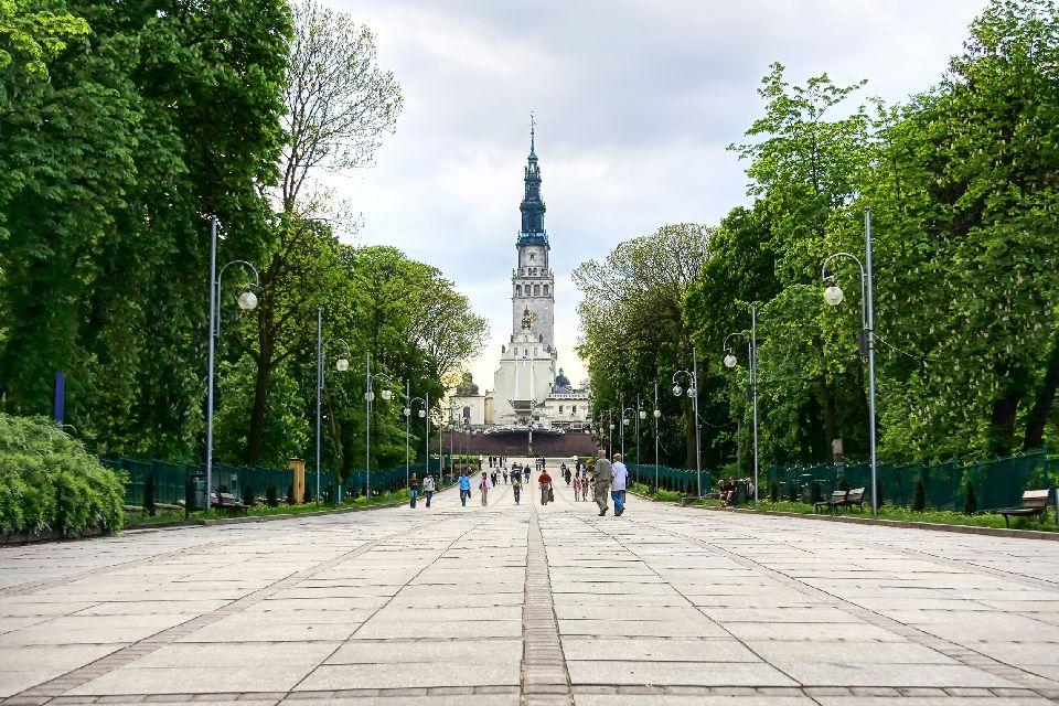 Das Kloster Czestochowa , Polen