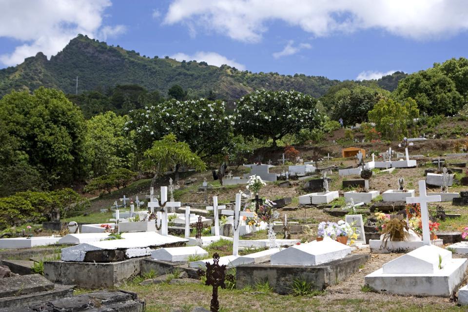 Il cimitero del Calvario , Polinesia francese