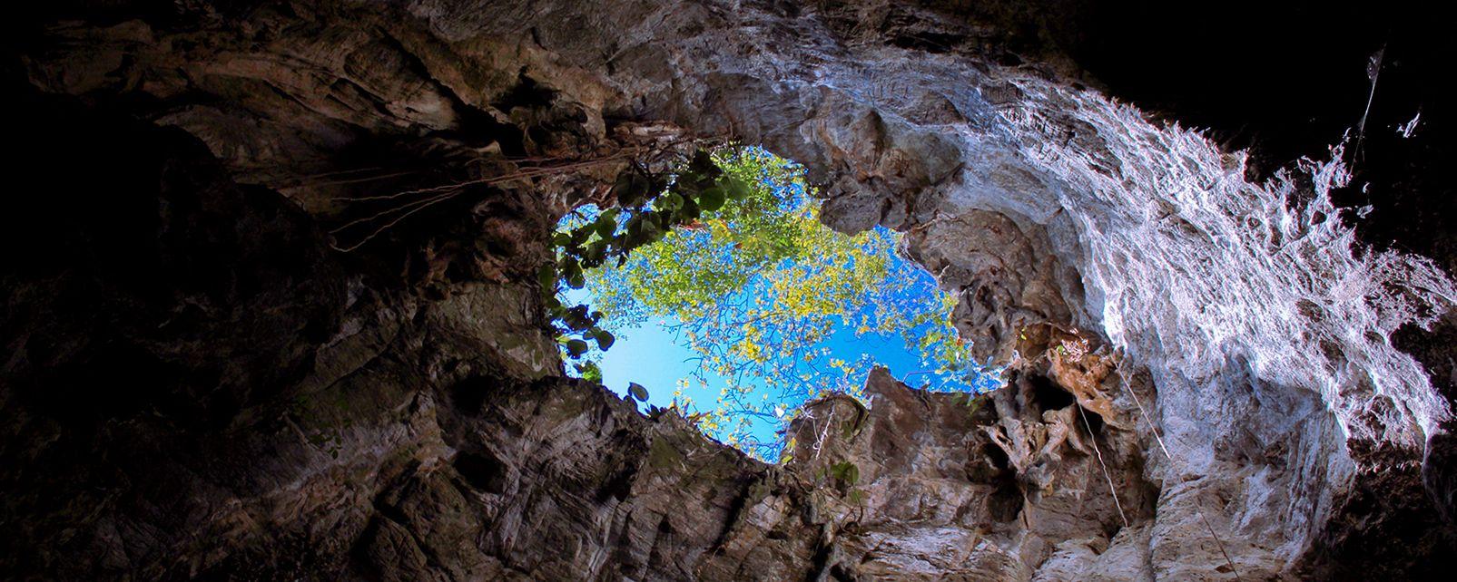 Les paysages, polynésie, tahiti, tahiti nui, grande tahiti, océanie, france, grotte