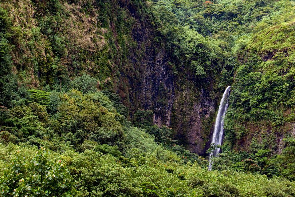 , Tahiti - Los valles y las cuevas de Tahiti Nui, Los paisajes, Polinesia Tahiti Bora Bora