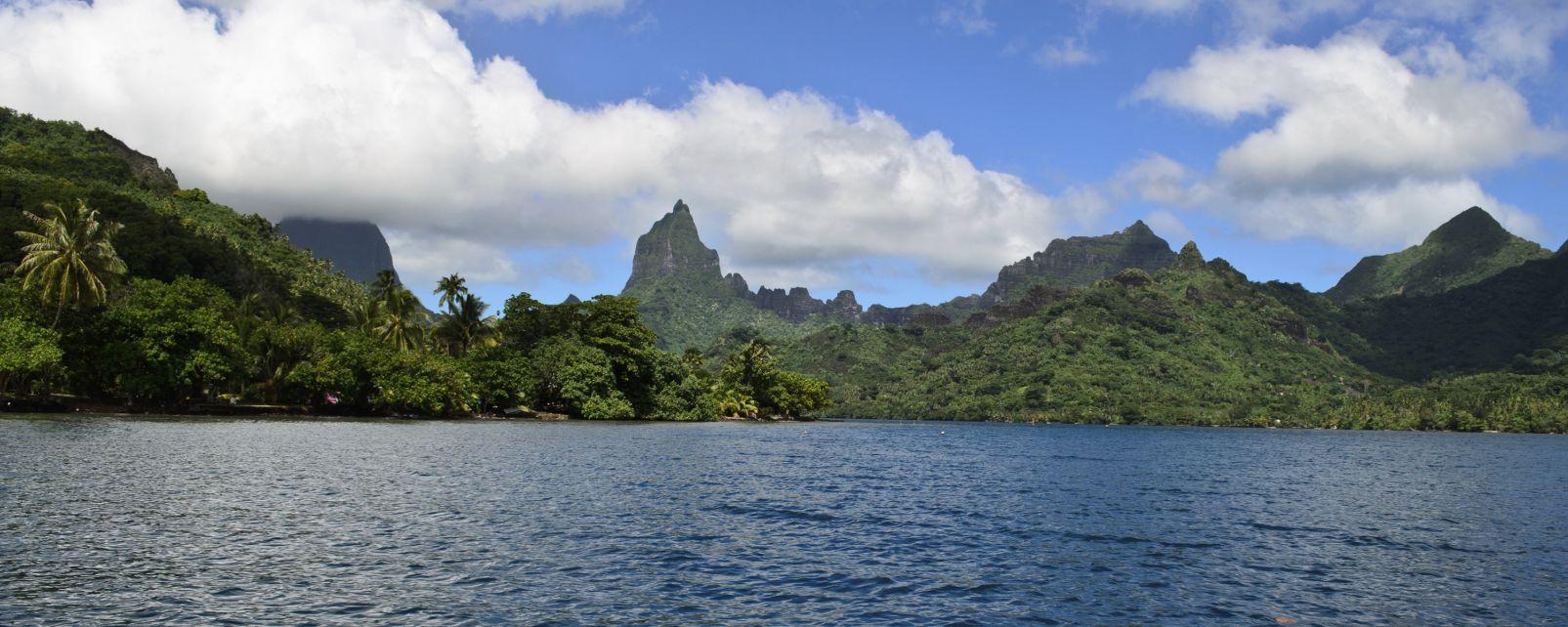 Moorea , Opunohu Bay , French Polynesia