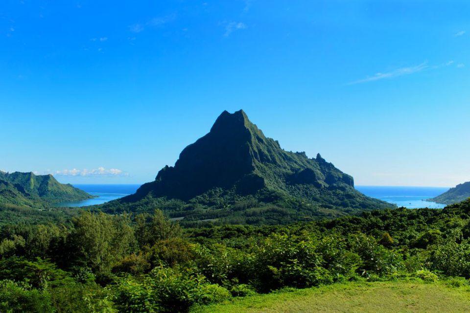 Moorea , La baia di Opunohu , Polinesia francese