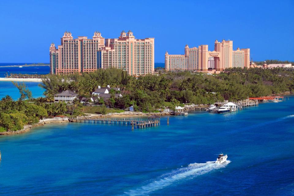 New Providence e le sue isole , L'hotel Atlantis a Paradise Island , Bahamas