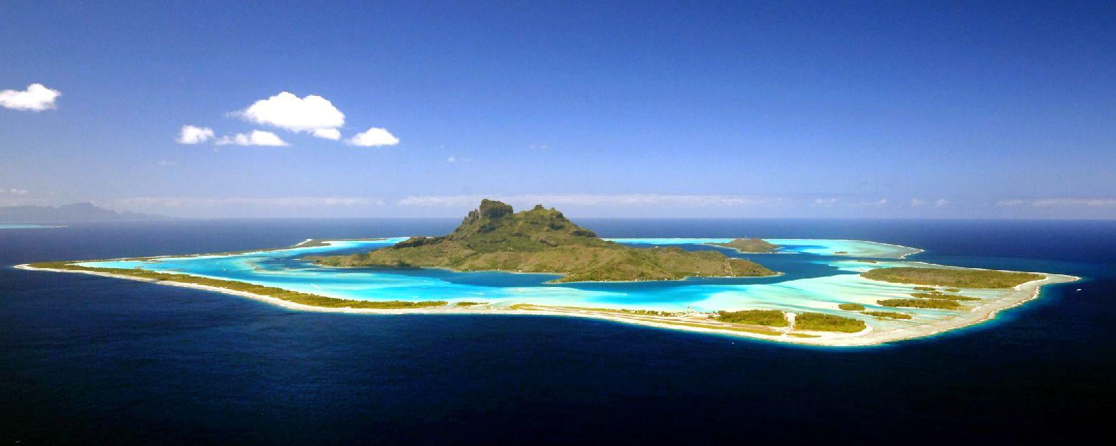 Bora Bora , The motus , French Polynesia